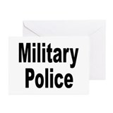 Military Police Greeting Cards (Pk of 10)