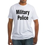 Military Police (Front) Fitted T-Shirt