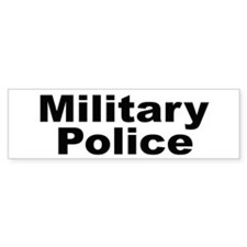 Military Police Bumper Bumper Sticker