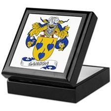 Gamboa Family Crest Keepsake Box