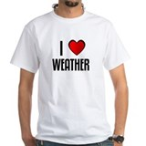 I LOVE WEATHER Shirt