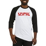 SeaTac Faded (Red) Baseball Jersey