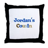 Jordan's Cousin Throw Pillow