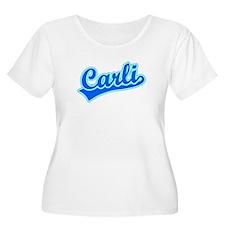 Retro Carli (Blue) T-Shirt