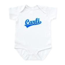 Retro Carli (Blue) Infant Bodysuit