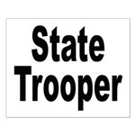 State Trooper Small Poster