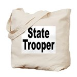 State Trooper Tote Bag