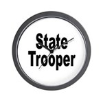 State Trooper Wall Clock