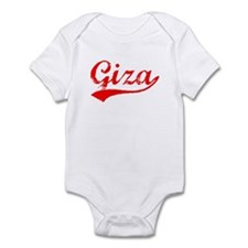 Vintage Giza (Red) Infant Bodysuit