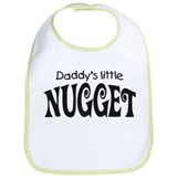 'Daddy's Little Nugget' Bib