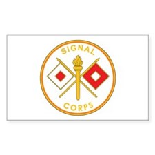 SIGNAL-CORPS Rectangle Decal