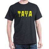 Taya Faded (Gold) T-Shirt
