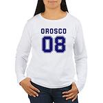 Orosco 08 Women's Long Sleeve T-Shirt
