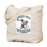 Jackson Hole Wyoming Tote Bag