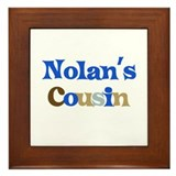 Nolan's Cousin Framed Tile
