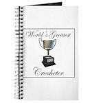 World's Best Crocheter Journal