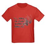 Make My Own Roads Kids Dark T-Shirt