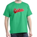 Retro Cairo (Red) T-Shirt