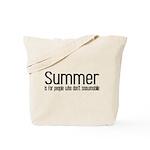 Summer... snowmobile Tote Bag