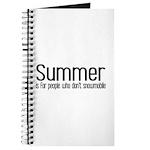 Summer... snowmobile Journal
