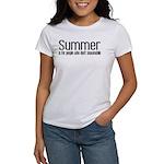 Summer... snowmobile Women's T-Shirt