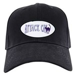 Attack Cat Black Cap