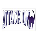 Attack Cat Postcards (Package of 8)