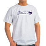 Attack Cat Ash Grey T-Shirt