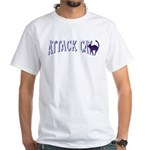 Attack Cat White T-Shirt