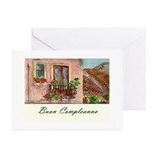 Italian Language Birthday Cards (Pk of 10)