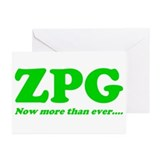 ZPG Greeting Cards (Pk of 10)