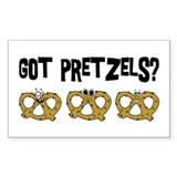 Got Pretzels Rectangle Decal