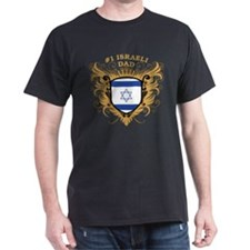 Number One Israeli Dad T-Shirt