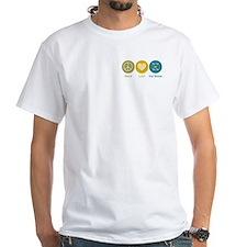 Peace Love Dog Training Shirt