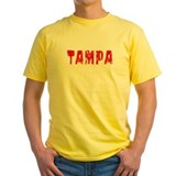Tampa Faded (Red) T