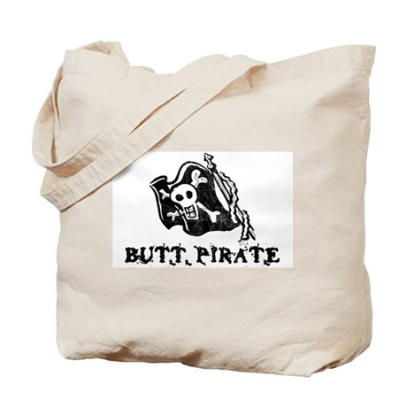 Butt Pirate Tote Bag