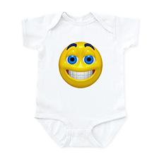 Happy Cheesy Face Infant Bodysuit