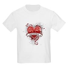Heart Panama T-Shirt