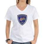 Lansing PD Canine Women's V-Neck T-Shirt