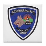 Lansing PD Canine Tile Coaster