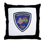 Lansing PD Canine Throw Pillow