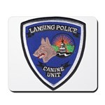 Lansing PD Canine Mousepad