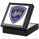 Lansing PD Canine Keepsake Box