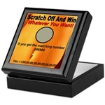 Scratch Off And Win Whatever Keepsake Box