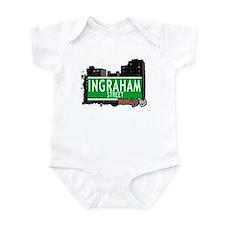 INGRAHAM STREET, BROOKLYN, NYC Infant Bodysuit