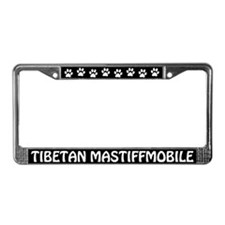 Tibetan Mastiffmobile License Plate Frame