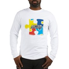 Autism Awarness Puzzle Long Sleeve T-Shirt