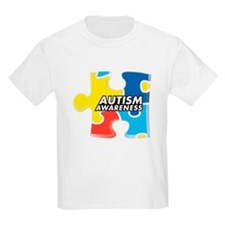 Autism Awarness Puzzle T-Shirt