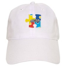 Autism Awarness Puzzle Baseball Cap