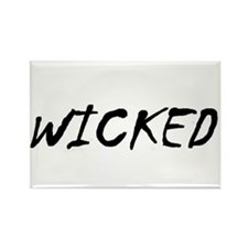 Funny Wicked Rectangle Magnet